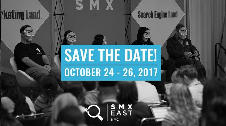 Learn SEO at SMX East 2017: Agenda, Schedule, and other Details The event will be hosted at Jacob Javits Convention Center in Hell's Kitchen, New York City and will run for three days starting today, October 24th. For three days, participants will be able to learn the latest SEO and SEM tactics that tackle the ... https://freeonlineusers.com