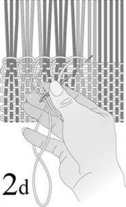 TELAR:Gran ejemplo de cómo terminar un proyecto de tejer con la puntada del dobladillo ...
