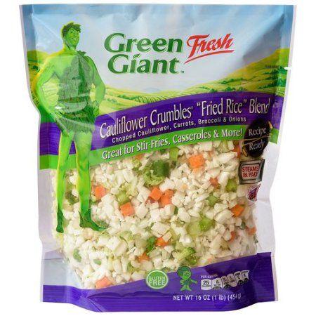 "Green Giant Fresh Cauliflower Crumbles ""Fried Rice"" Blend, 16 oz"