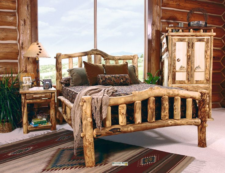 Offers Aspen Log Beds, Aspen Log Furniture, Snowload Aspen Log Bed, Rustic  Furniture Browse Our Rustic Furniture Catalogs Now. Free Delivery To 48  States.
