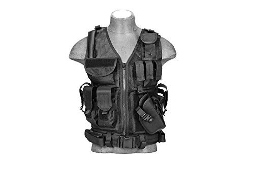 Lancer Tactical Cross Draw Tactical Vest Black https://besttacticalflashlightreviews.info/lancer-tactical-cross-draw-tactical-vest-black/