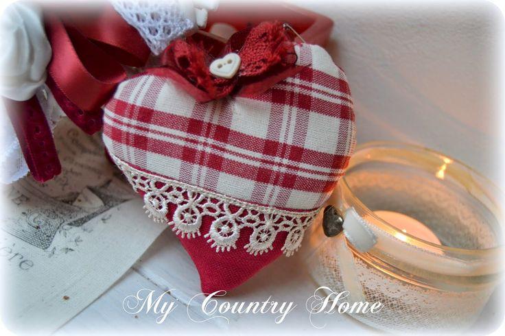 MY COUNTRY HOME: Un cuore di rose
