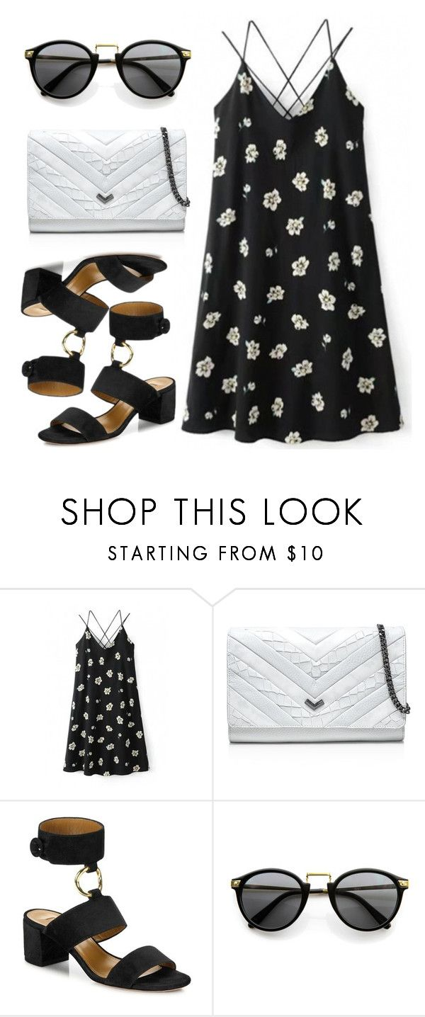 """""""Daytime stroll"""" by indirareeves on Polyvore featuring Botkier and Aquazzura"""