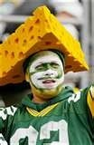 """What the """"Cheesehead"""" fans wear for headgear!"""