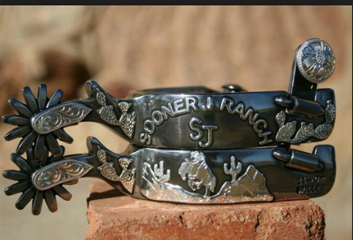 .good looking set of spurs