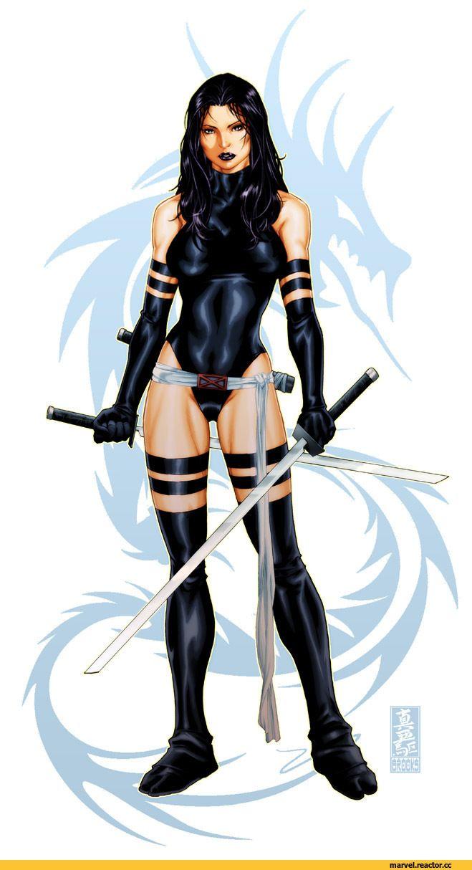 X-Men,Люди-Икс,Marvel,Вселенная Марвел,фэндомы,Psylocke,Псайлок, Элизабет Брэддок,diablo2003