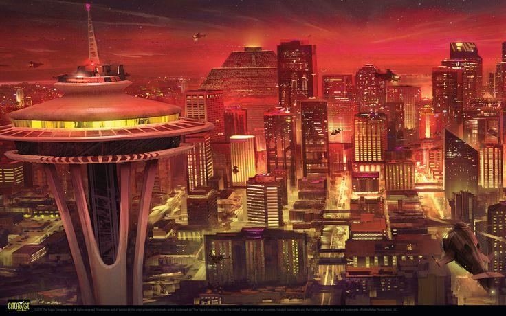 Shadowrun - Cityscape