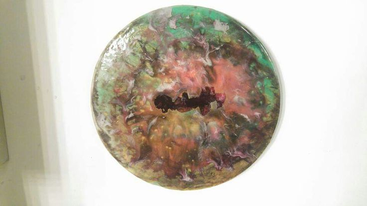 "Resin Art by Sara - ""The Eye of the Verse"""