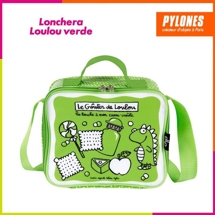 Lonchera isótermica verde #DíaDelNiño #FelizDíadelNiño @pylonesco