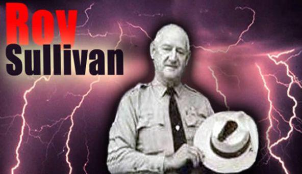 Roy-Sullivan , Treffer,Treffer,Trefffff