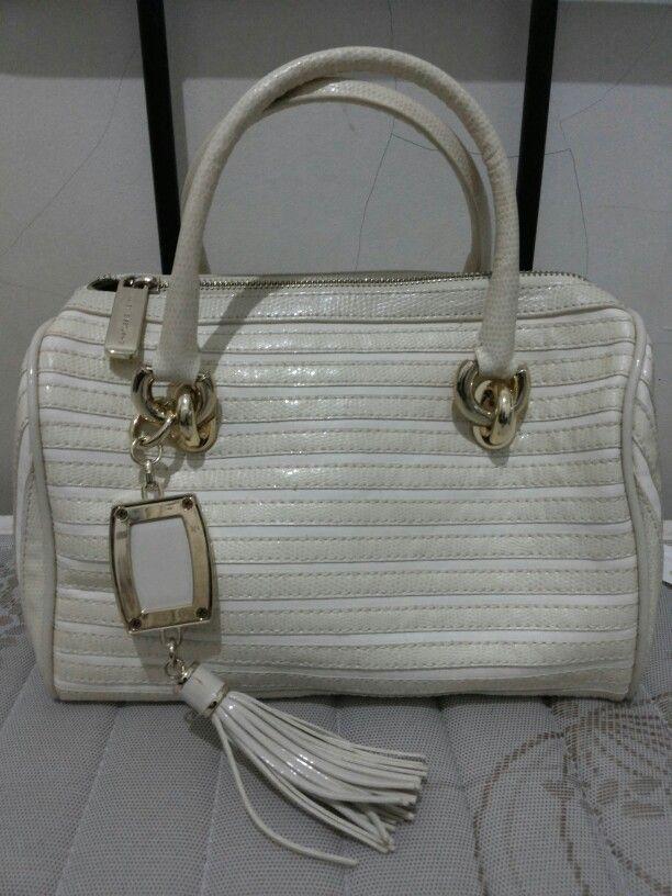 Broken White Handbag from Charles and Keith