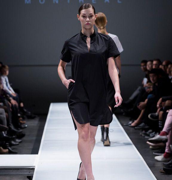 Robe tunique à manches courtes.  97% Coton 3% Spandex  Créée et fabriquée à Montréal.  Découvrezd'autres produits de Naïké