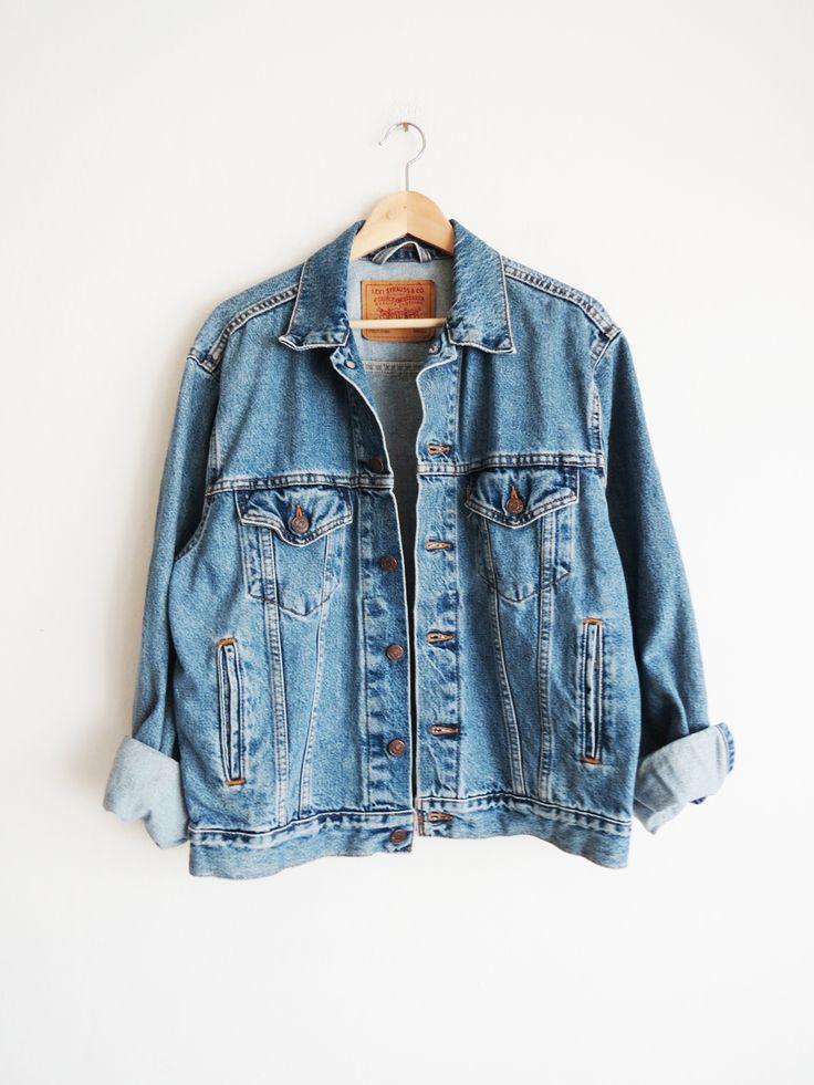 Levis Denim Jacket S/M/L // Vintage Levis Boyfriend Unisex Jacket SOLD