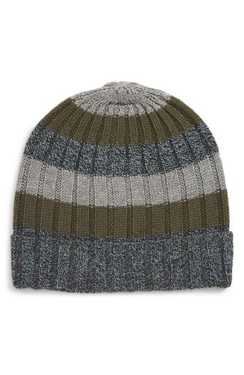 eb7a5970d42b14 New The Rail Marled Stripe Beanie Men Fashion Hats. [$19.5] allfashiondress  Fashion is a popular style