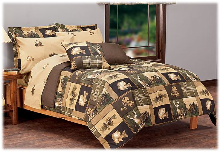 Bass Pro Shops Bass Country Bed In A Bag Bedding Set