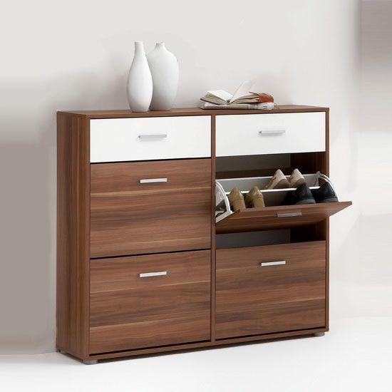New Wooden Shoe Storage Cabinet