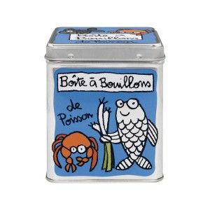 Tin box with french design by Valerie Nylin. Distributed in Scandinavia by Dixie. Collect them all!