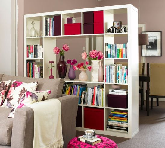 10 Creative Examples For Dividing Small Spaces: 1000+ Ideas About Ikea Room Divider On Pinterest