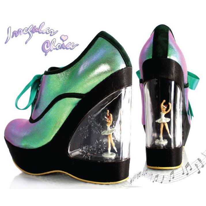 Irregular Choice Shoes Wind Up Heel