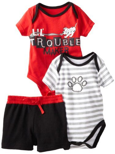 Disney Baby-Boys Newborn 2 Bodysuits and Pants Set - List price: $17.00 Price: $12.75 + Free Shipping