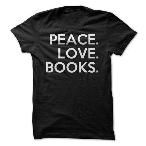 Peace. Love. Books.