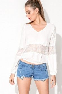 Marla Top - White