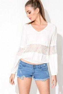 Marla Top - White