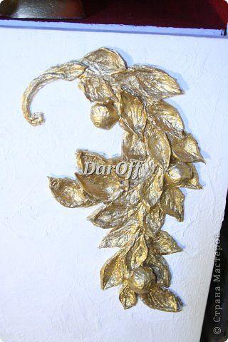 Декор предметов Мастер-класс Папье-маше Резьба по дереву из салфеток Клей Салфетки фото 19