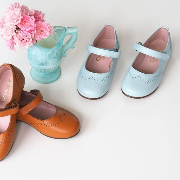 Chupetin himmelblå Mary Jane – Hola Lola #kids #shoes #childrensshoes