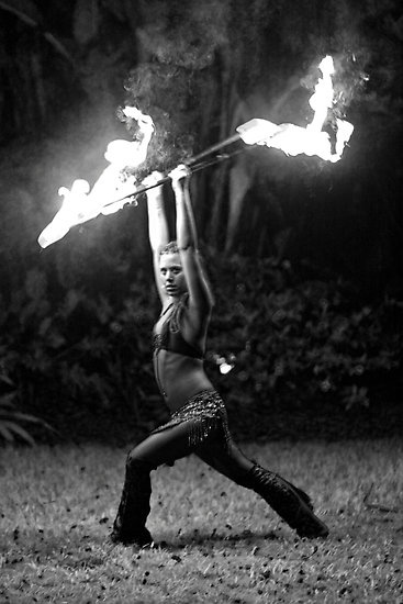 Fire staff dancer and eloquent fire poi art dancer. #fireeater #firebreather <3 AMAZING image.