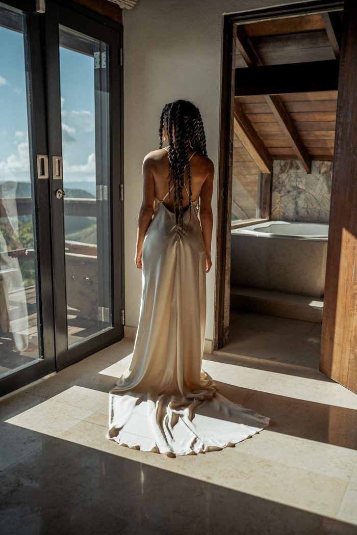 Ultra Fashionable Puerto Rico Elopement Inspiration In Lajas Valley Junebug Weddings In 2020 Wedding Dresses Lace Backless Wedding Dress Wedding Dresses Corset