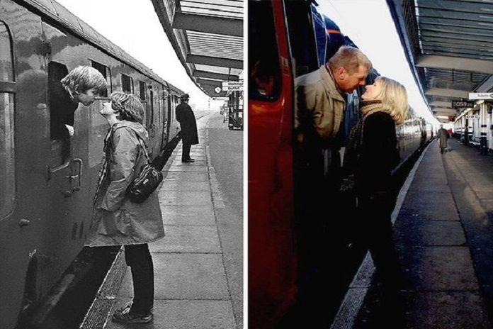 Biliyor muydun ? /// 40 yıl önce çektiği fotoğraflardaki insanları bulup, aynı kareleri tekrar çeken fotoğrafçıdan harika fotoğraflar..