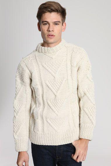 Mens chunky knitwear