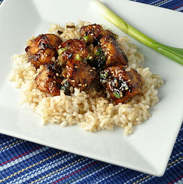 sesame chickenDinner, Chicken Recipe, Fun Recipe, Sesamechicken, Food, Healthy Sesame Chicken, Delicious, Healthy Recipe, Favorite Recipe