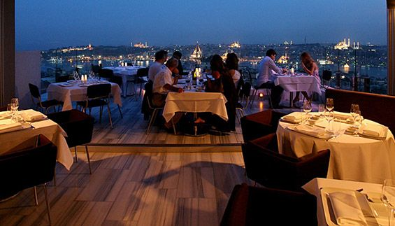 Top 10 rooftop bars: 4. Mikla – Istanbul