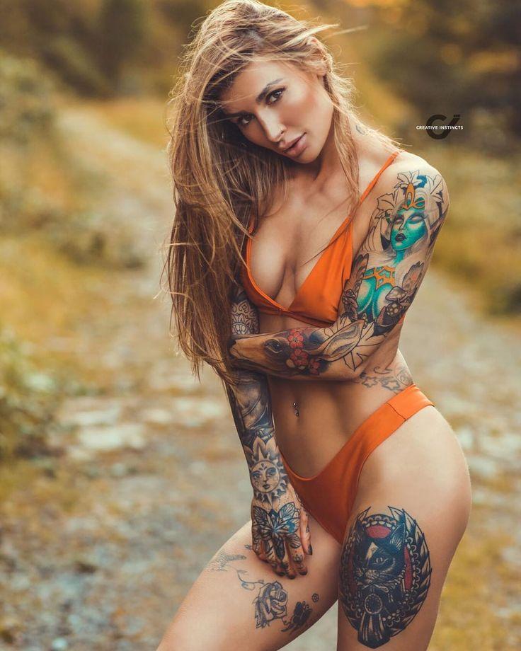 Tattoo model Georgina
