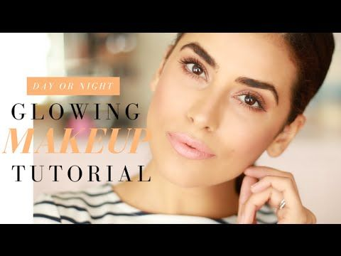 Copper Eyeshadow and Peach Lip Makeup | SUN-KISSED GLOW - YouTube