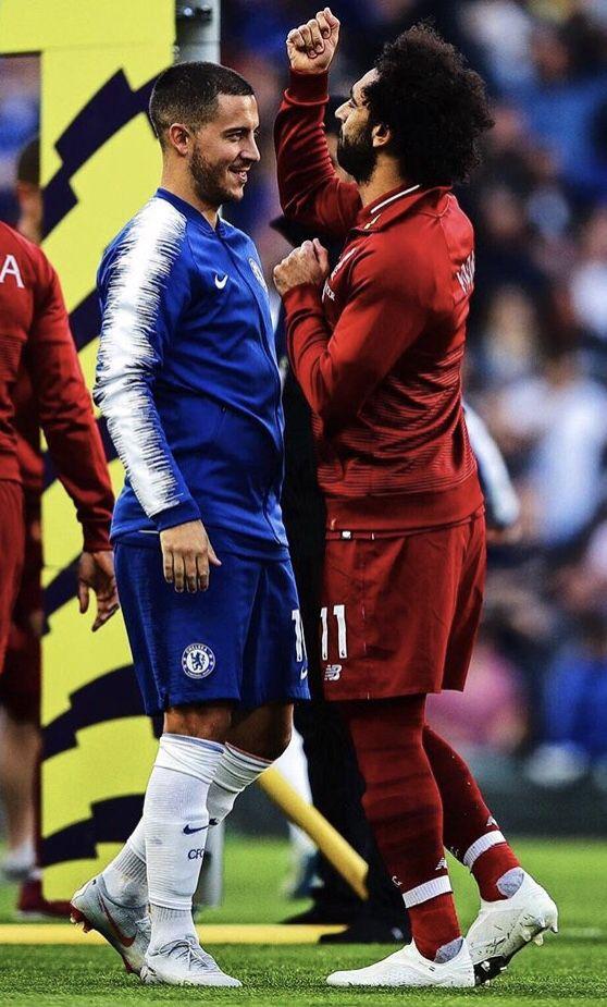 6c8766490609 Salah and Hazard | soccer <3 :) Futbol ⚽ | Brazil football team ...