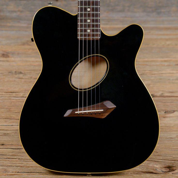 Fender Telecoustic Black 2002 (s886)