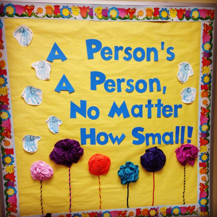 Toddler Classroom Decorations ~ Dr seuss bulletin board horton hears a who person s