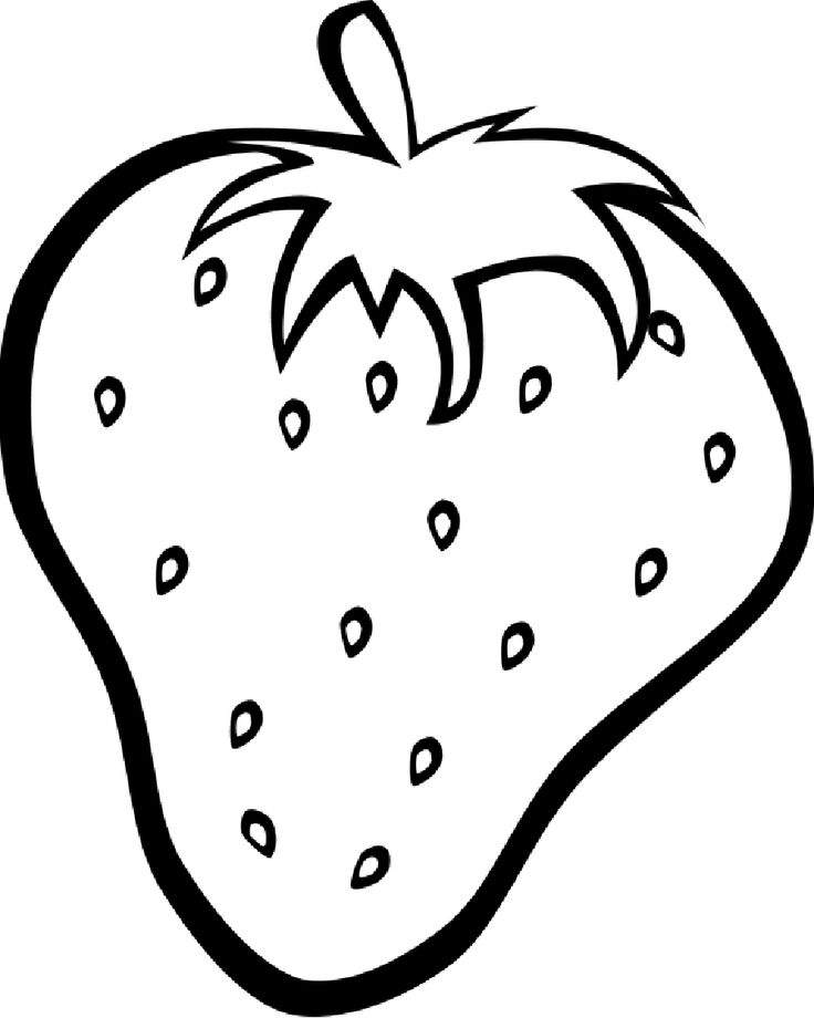 31 best fruits coloring pages images on pinterest