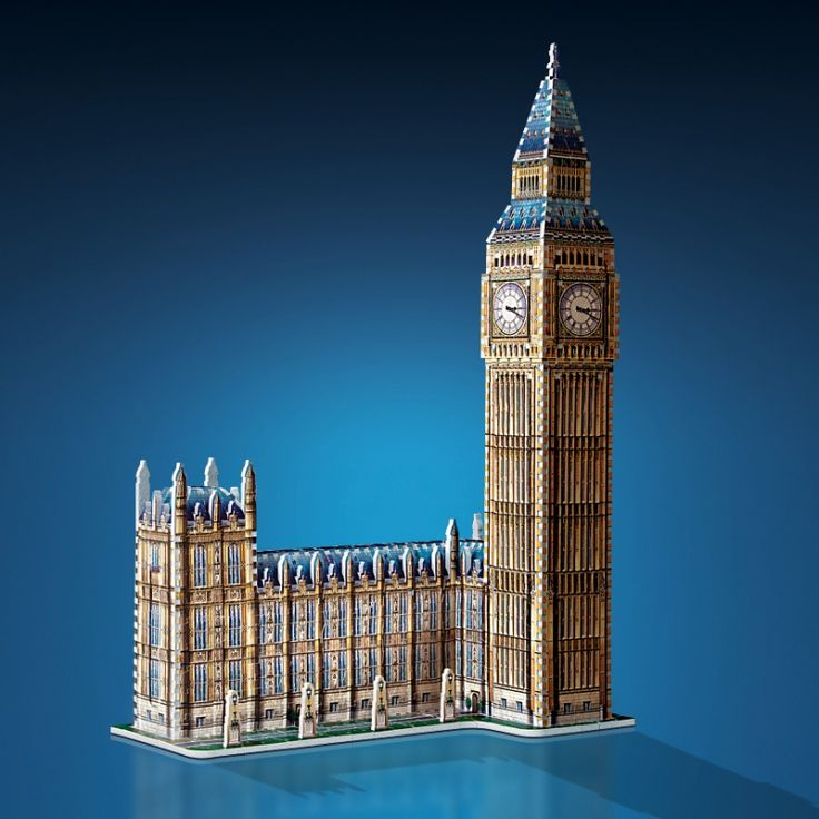 Puzzle Wrebbit 3D 890 Piezas Big Ben