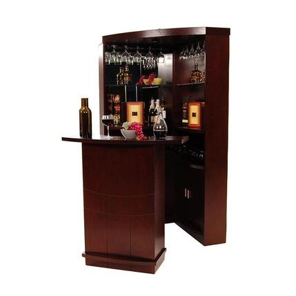 El Dorado Furniture Estella Complete Corner Bar Home