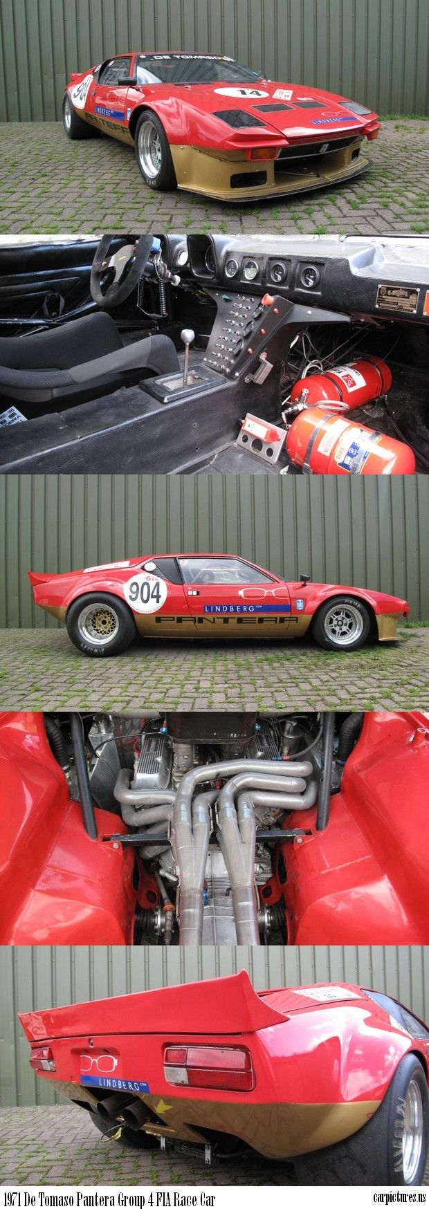 1971 De Tomaso Pantera Group 4 FIA Race Car