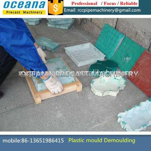 Decorative concrete molds, polyurethane mould for artificial stone, stampi in silicone per muri