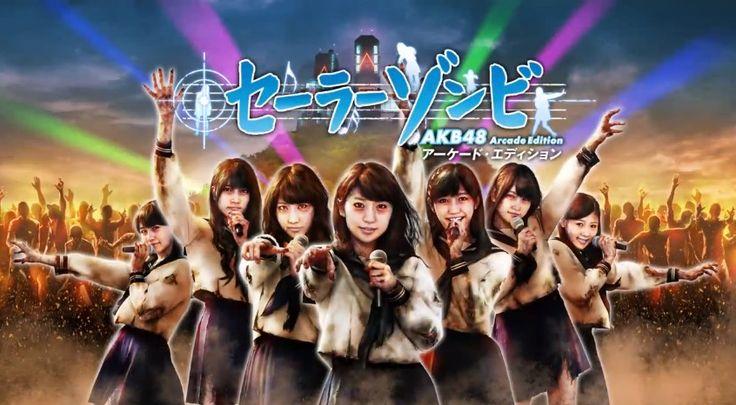 『セーラーゾンビ ~ AKB48 アーケード・エディション ~』紹介ムービー - YouTube  (via http://www.youtube.com/watch?v=ZOvvr_rFp_s )