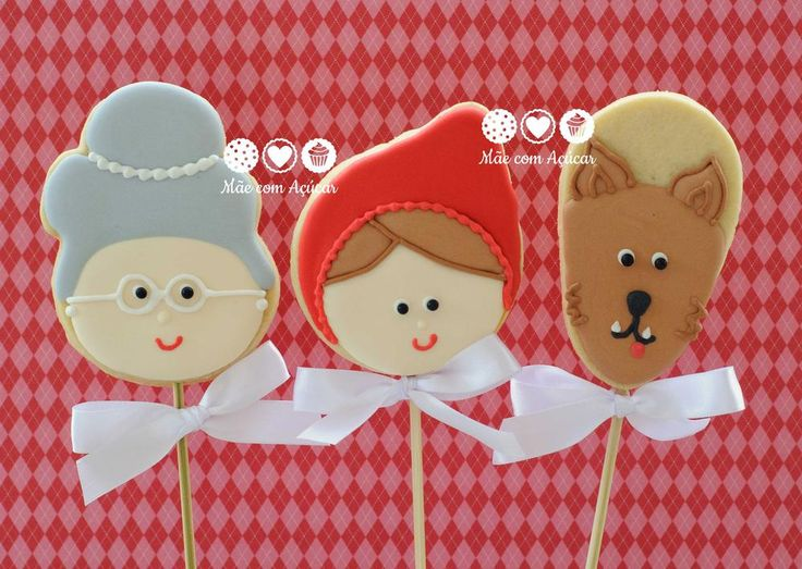 little Red Riding Hood cookies | Cookie Connection