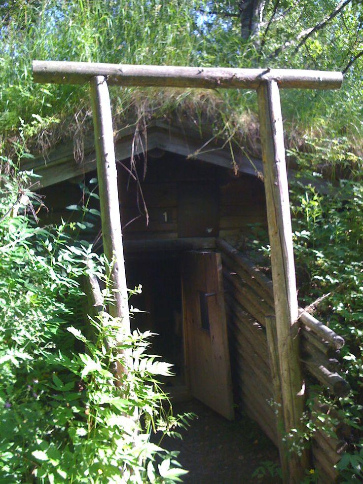 Underground sauna, Muurame Sauna Museum
