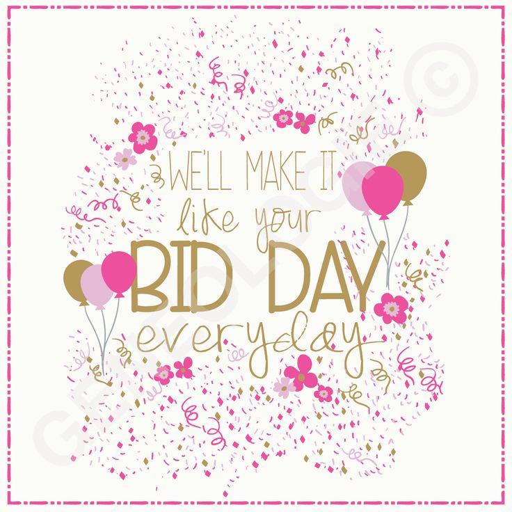 We'll make it like your bid day every day! Geneologie | Greek Tee Shirts | Greek…