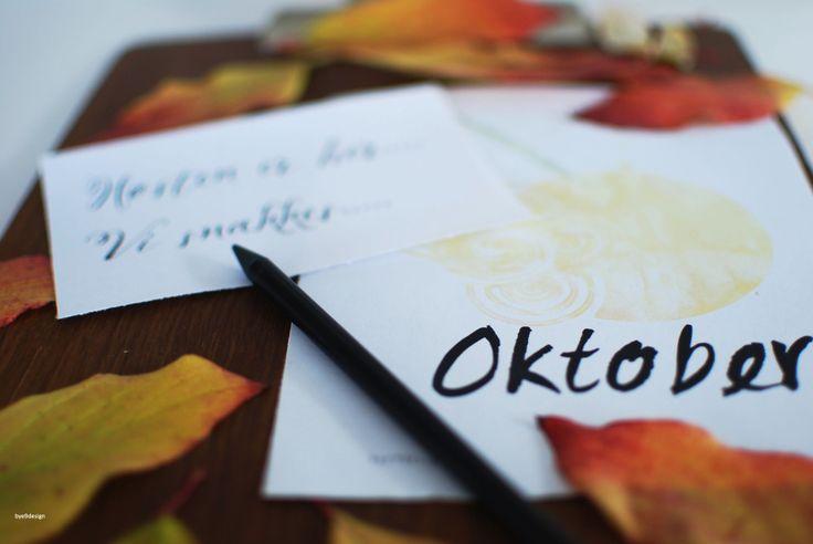 Oktober print